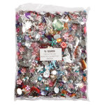 Acrylic Jewels Assorted 454g Per Pack