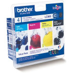 Brother N A Original black and colour ink cartridge multipack