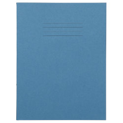 5mm Squared 226 x 178mm 80 Page Exercise Books Light Blue 100 Per Box