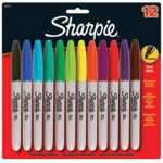 Sharpie Permanent Markers Assorted 12 pk