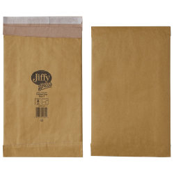 Jiffy Padded Bag Peel Seal Bag No 3 196 x 350mm 10 Per Box