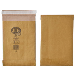 Jiffy Padded Bag Peel Seal Bag No 1 164 x 285mm 10 Per Box