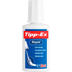 Tipp Ex Rapid Correction Fluid Fast Drying with Foam Applicator 20ml
