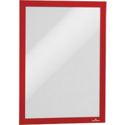 Durable Magaframe Magnetic Frame  Red  A4   Pack 2