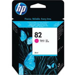 HP 82 Original Magenta Ink Cartridge CH567A