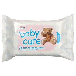 Jeyes Baby Care Baby Wipes 72 Wipes