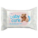 Jeyes Baby Wipes 1 ply Pack 72