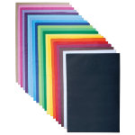 Tissue Paper Sheets Assorted 760 x 500mm 480 Sheets Per Pack