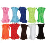 Chenille Stems 150mm long Pack 1000 Assorted Colours