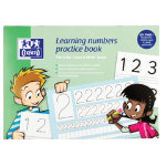 Learning Numbers Practice Book