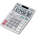 Casio MS88ECO 8 Digit Eco Solar Powered Calculator