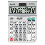 Casio DF 120ECO Large 12 Digit Eco Desk Solar Powered Calculator
