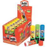 Pritt Colour Glue Sticks Pack 24 in 4 colours