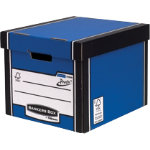 Fellowes Bankers Box R Kive Premium Presto Tall Storage Box H298xw336xd394mm Blue Pack of 10