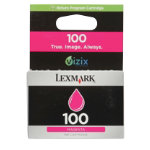 Lexmark 100 Original Magenta Printer Ink Cartridge 14N0901E