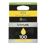 Lexmark 100 Original Yellow Printer Ink Cartridge 14N0902E