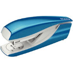 LEITZ WOW Nexxt Metal Half Strip Stapler Up to 30 Sheets Blue