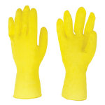 Rubber Gloves Small Yellow