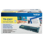Brother TN 230Y yellow toner cartridge