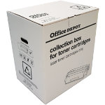 Office Depot Remanufactured Toner recycling box