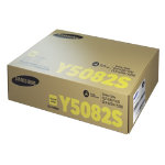 Samsung CLT Y5082S Original Yellow Toner Cartridge CLT Y5082S ELS