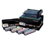 Lexmark C540X74G Original Black 3 Colours Imaging Drum C540X74G