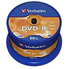 Verbatim DVD R 16X 47GB Spindle 50 Pack