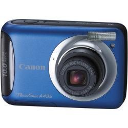 Canon A495 Digital Camera - Blue