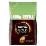 Nescafe Instant Coffee Refill Pack Gold Blend 600 g
