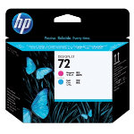 HP 72 Original Printhead C9383A Cyan Magenta 1