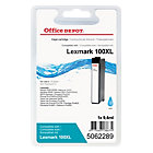 Office Depot Lexmark No100XL Hi Yield Cyan Inkjet Cartridge 14N0900E