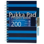 Pukka Navy A5 Project Book Blue