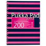 Pukka Navy A4 Jotta Notebook Pink