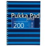Pukka Navy A4 Jotta Notebook Blue