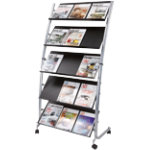 Alba freestanding literature display
