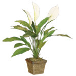 Peace Lily Artificial Plant 60cm