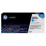 Original HP CE741A cyan laser toner cartridge HP No 307A