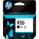 Original HP 920 Ink Cartridge Black CD971AE