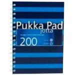 Pukka Navy A5 Jotta Notebook Blue