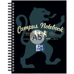 Campus A5 Notebook Black
