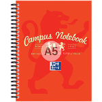 Campus A5 Notebook Red