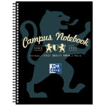 Campus A4 Notebook Black