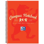Campus A4 Notebook Red