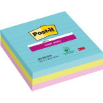 Post it Notes Super Sticky Ruled 101 x 101 mm