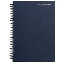 Office Depot A6 Ruled Wirebound Manuscript Book