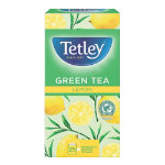 Tetley Lemon Green Tea Bags 1296A 25 Pieces