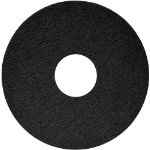 FLOOR MAINTENANCE PADS DRY OR SPRAY BUFFING 15 BLACK PACK OF 5