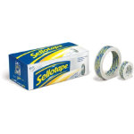 Tape 24mm x 50m Clear Free Dispenser