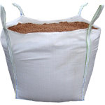 Standard Brown Rock Salt 850KG Bulk Bag