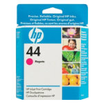 Original HP No44 magenta printer ink printer cartridge 51644M